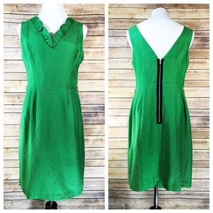 Frock! By Tracy Reese Kelly Green Ruffle Dress